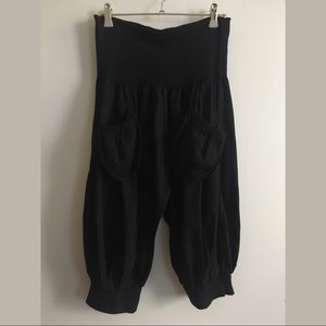 RINASCIMENTO Baggy Harem Style Pants - Linea Jeans
